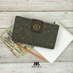 """If you love the Dave Ramsey financial plan and envelope system like I do ($121,000 in debt gone by telling my money where to go while in grad-school time period) then you'll appreciate this awesome wallet like I do! Slots you label as your categories (envelopes) with a front for your cards with a twist & zipper closure. Cute patterns to choose from. Love mine!"" -Kelly  Join thousands of cash budgeters using the Bella Taylor Cash System Wallet.  Exclusively at The BitLoom Co."