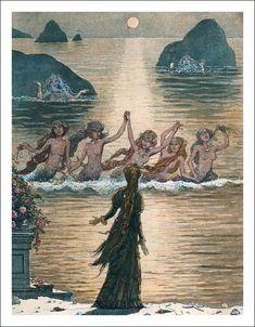 Sunday, April 7, 2013  The Little Mermaid. Illustrator Boris Diodorov**