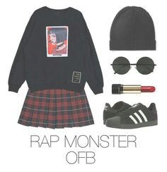 Outfit Idea (idk the number) btw i love BTS Kpop Fashion Outfits, Korean Outfits, Grunge Outfits, Cute Fashion, Fall Outfits, Casual Outfits, Cute Outfits, Womens Fashion, Mode Kpop