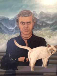 hr giger's cat Hr Giger, Mona Lisa, Cats, Artwork, Meet, Painting, Fictional Characters, Animals, Vintage