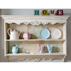 Carved French Kitchen Wall Shelf £149.00