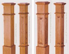 Standard Newel Posts