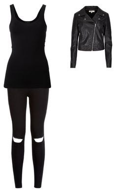 """""""black 2"""" by crystal-clear-killer ❤ liked on Polyvore featuring Theory and Limited Edition"""