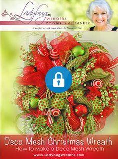 Ladybug Wreaths Downloads | Digital Training Center