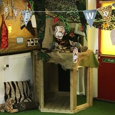 A den for all seasons. Indoors and out! Den Building, Eyfs Classroom, Types Of Play, Den Ideas, Jungle Animals, Parkour, Child Love, Young Boys, Fairy Lights