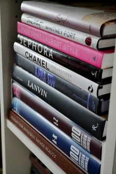 decorate with fashion books