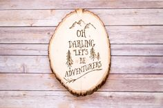 Wood Burned Wall Art.  Perfect for gallery walls or as gifts for those who love to travel.