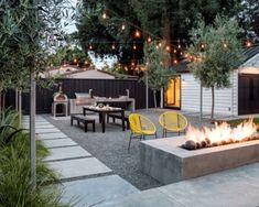10 Marvelous Modern Backyard Patio Ideas That Will Amaze 10 wunderbare moderne Hinterhof-Patio-Ideen Small Backyard Design, Backyard Patio Designs, Small Backyard Landscaping, Backyard Projects, Patio Ideas, Backyard Ideas, Landscaping Ideas, Backyard Pools, Garden Ideas
