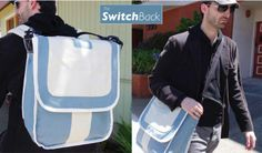 Vote for the SwitchBack on Betabrand.com. Get a sleek messenger bag that can convert into a backpack.