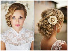 Yes. I do!: Ślubne inspiracje- fryzury
