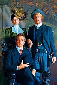 Katherine Ross with Paul Newman and Robert Redford, her co-stars in 1969's Butch Cassidy and the Sundance Kid