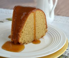 brown sugar addicts will swoon over this delicious brown sugar pound cake. Super moist and topped with hot buttery brown sugar glaze. Easy to make.