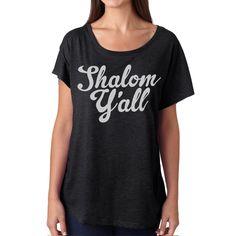 Fab.com   Shalom Y'all Dolman Women's Blk