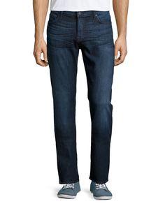 7 For All Mankind Standard Straight-Leg Jeans, Oceanside View, Men's, Size: 30