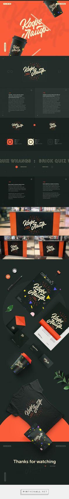 CoffeeLife Coffee Shop Branding by Logo Machine | Fivestar Branding Agency – Design and Branding Agency & Curated Inspiration Gallery #branding #brand #coffeebranding #packaging #design #designinspiration