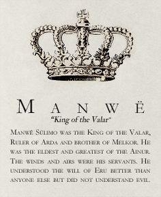 <3 Manwe: King of the Valar