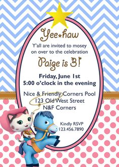 The Three Little Birdies Sheriff Kinsley S 2nd Birthday Party