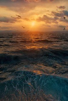 Sunset by  Ivan Borovkov