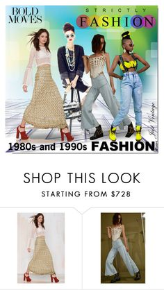 """""""1980 & 1990 Fashion"""" by ollie-and-me ❤ liked on Polyvore featuring Missoni and The Blonds"""