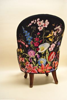 back of Marie Berbar chair