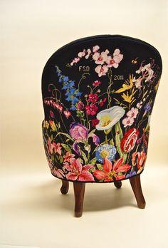 back of Marie Berbar chair
