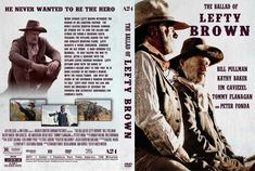 The Ballad Of Lefty Brown (2017) DVD Custom Cover