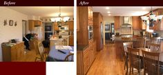 Kitchen Remodel Before And After Ideas ~ http://modtopiastudio.com/small-kitchen-remodel-before-and-after/