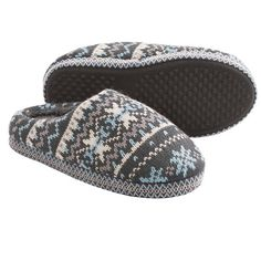 Muk Luks Knit Scuff Slippers (For Women))
