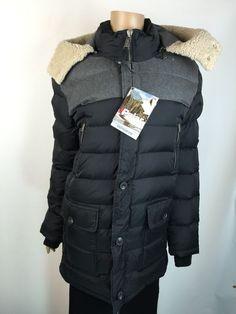 Pajar Canada Long Down Parka Coat Black 'Wade' Puffer Hooded NWT New Sz XS  #PajarCanada #Parka