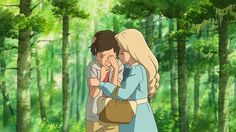 Mystery and loneliness take center stage in 'When Marnie Was There,' a supernatural drama as beautiful and heartfelt as any great film from Studio Ghibli. Totoro, Art Studio Ghibli, Studio Ghibli Movies, Hayao Miyazaki, Anime Manga, Anime Art, Manga Girl, Anime Girls, When Marnie Was There
