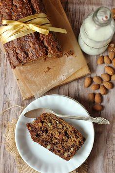 Feed Me Better: Pełnoziarnisty, otrębowy banana bread. Healthy Recipes, Healthy Food, Banana Bread, I Am Awesome, Breads, Healthy Foods, Bread Rolls, Healthy Eating Recipes, Bread