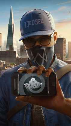 Marcus Holloway / Watch Dogs 2 - Best of Wallpapers for Andriod and ios Hacker Wallpaper, Dog Wallpaper, Marvel Wallpaper, Cellphone Wallpaper, Screen Wallpaper, Mobile Wallpaper, Watch Dogs 1, Cool Watches For Women, What Dogs