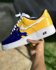 Behind The Scenes By best_customs Black Nike Shoes, Nike Air Shoes, Custom Jordans, Custom Sneakers, Custom Painted Shoes, Custom Shoes, Sneakers Mode, Sneakers Fashion, Nike Fashion