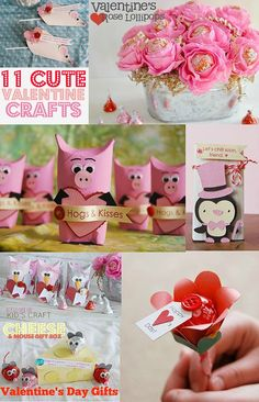 Round Up, Valentine's Day, February, love, crafts, cute, kids, mom, dad, family, school, class party, gifts, friends, family, easy, animals,