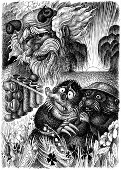 The Wind in the Willows byNikolaj Djatschenko -The Piper at the Gates of Dawn