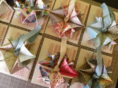 Paper creation. These are gorgeous!