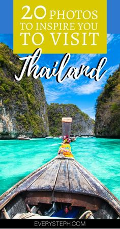 20+ Photos To Inspire You To Visit Thailand - From mountains to beaches, from temples to islands, Thailand has it all! | Thailand Travel Tips| Thailand Photography | Phuket, Phi Phi, Chiang Mai, and many other Thailand travel destinations... | via @Everys