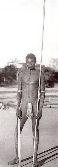 """a tall powerful man with intelligent face, deep set eyes and a heavy beard"""". From Donald Thomson in Arnhem Land by Donald Thomson, Indigenous native people Aboriginal History, Aboriginal Culture, Aboriginal People, Aboriginal Art, Kingdom Of Kongo, Stone Age People, Australian Aboriginals, Australian People, Deep Set Eyes"""