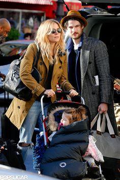 Sienna Miller and Tom Sturridge Leave Paris With Marlowe