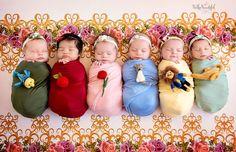 Derreta-se com as bebês fotografadas como mini princesas Disney | As coisas mais criativas do mundo