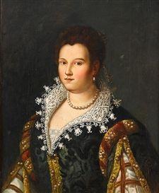 Portrait de Blanca Cappello, grande duchesse de Toscane, école florentine
