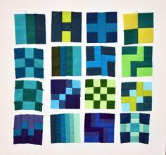 Dutchcomfort block 1-16 of 365 Challenge quilt
