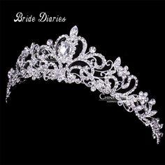 Tiaras e Coroas Tiara Do Casamento Coroa De Noiva tiaras de casamento para noivas