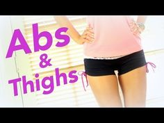 4 Minutes to Flat Abs & Toned minutes.that's at least a start Pop Pilates, Pilates Routines, Pilates Video, Tone Thighs, Outer Thighs, Flat Abs, Flat Stomach, Fitness Magazine, Yoga