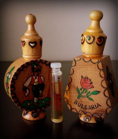 Handcrafted wooden muskal with rose oil perfume www.mybalnanstore.com