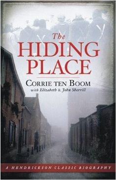 The Hiding Place- by Corrie ten Boom... A Holocaust survivor. LIfe-changing read!  This is a book I think should be required reading in our schools.  We must NEVER forget.gkp