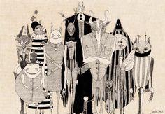 Giulia Ferla - Quando eri piccolo - China e Matite colorate su Carta