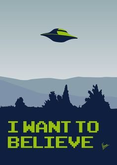 """""""My X-files: I want to believe poster"""" Posters by Chungkong 
