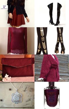 My clutch purse is featured here: Christmas shopping early..... by 1956ljcd1 on Etsy--Pinned with TreasuryPin.com  #clutch #clutchpurse #suedepurse #maroonpurse #smallpurse #handbags #bags #totebag #handmade #fallfashion #winterfashion #giftguide #holidaygiftguide #giftsforwomen #giftideasforher #handmadegifts #forher