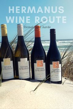 Hermanus WIne Route has a oceanic influence Seven Springs, Travel Magazines, Online Travel, Pinot Noir, South Africa, Tourism, Ocean, Wine, Activities